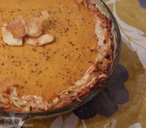 pumpkin potato kugel