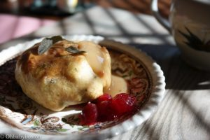 Thanksgiving knish